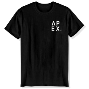 T-Shirt Apex: Black